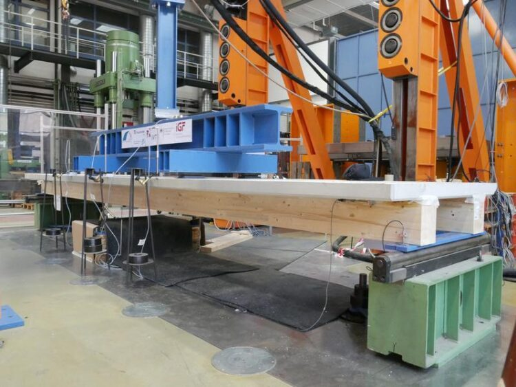дървесно-бетони елементи